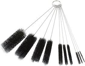 Dxg 8.2 Inch Nylon Tube Brush Set Cleaning Brush Set for Drinking Straws, Glasses, Keyboards, Jewelry Cleaning, Set of 10