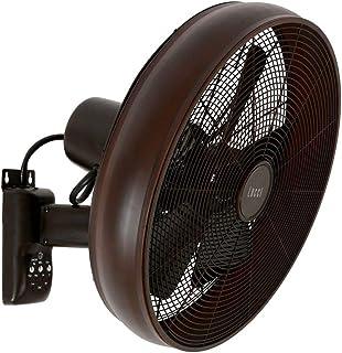 LUCCI AIR Breeze Ventilador de pared con mando a distancia, Oil Rubbed Bronze