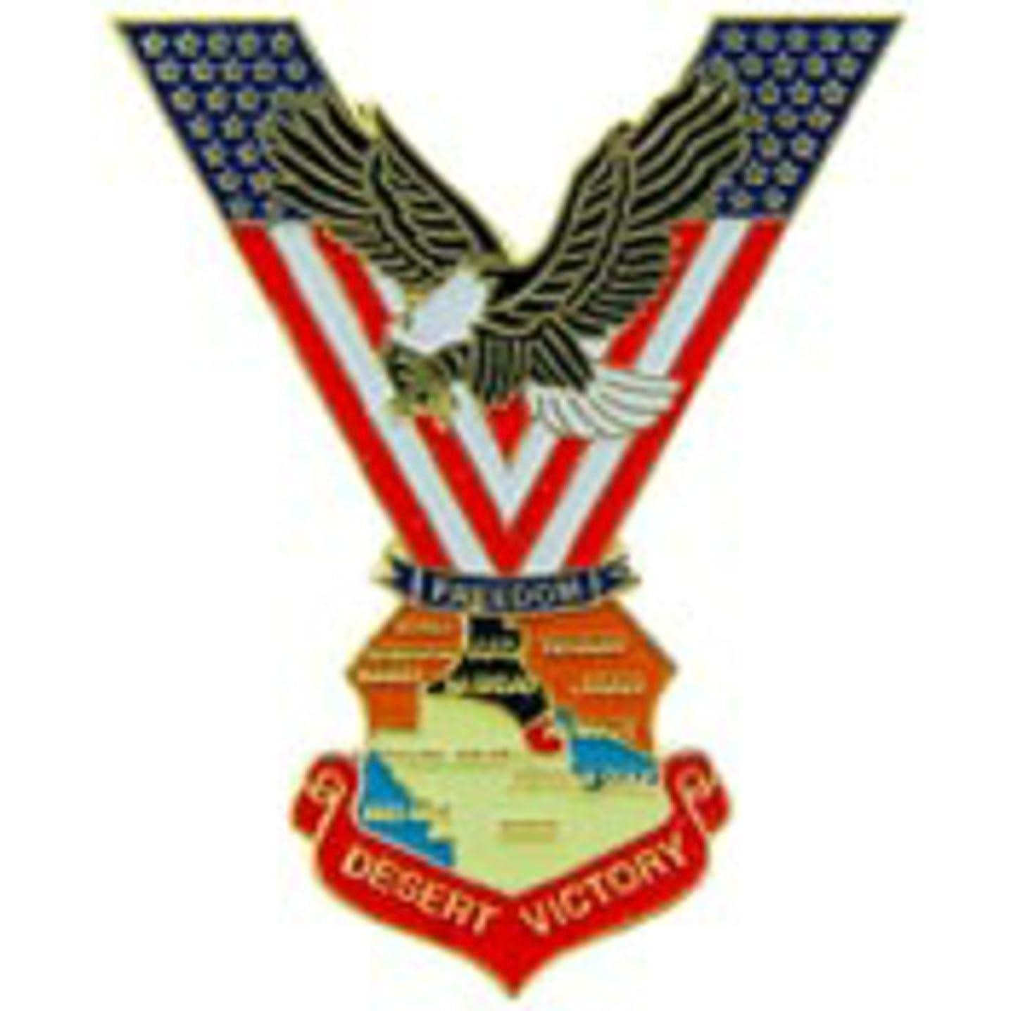 EagleEmblems P40214 Pin-Kia,America Remembers (Shield) Pewter (1.5'')