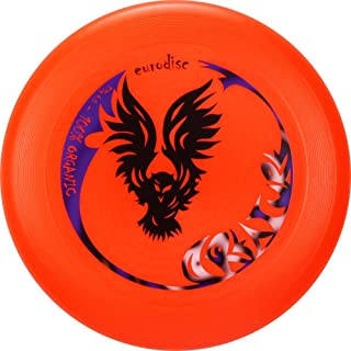 Eurodisc 175g professional Organic Ultimate Frisbee Competition flying Disc design CREATURE ORANGE, flight distance over 100 meter