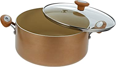 Meyer Stockpot Cushion Smart Glass Lid - 28 Cm Beige Beige