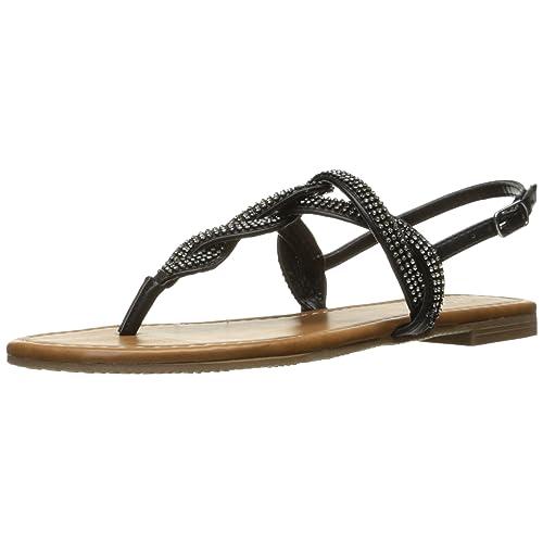 a12a127db33 Black Sparkly Sandals: Amazon.com