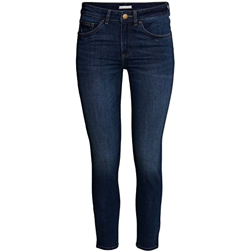 89500e3da19 Fashion Star Oops Outlet Womens Ex Zara Skinny Denim Jeans Ladies Slim  Fitted Faded Stretch Pants