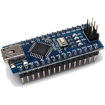 waves Arduino Nano V3.0 互換品 DCCduino Mini USB CH340 国内配送 ピンヘッダ装着済