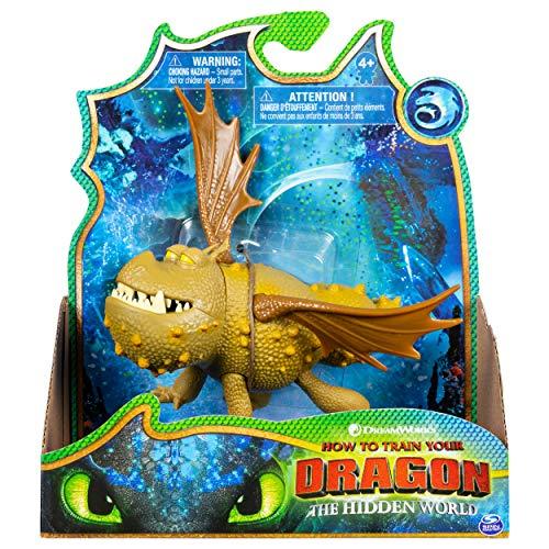 Dreamworks Dragons SPINMASTER – 6047284 Drachenzähmen leicht gemacht 3: Die geheime Welt – Meatlug – Drachen Figur