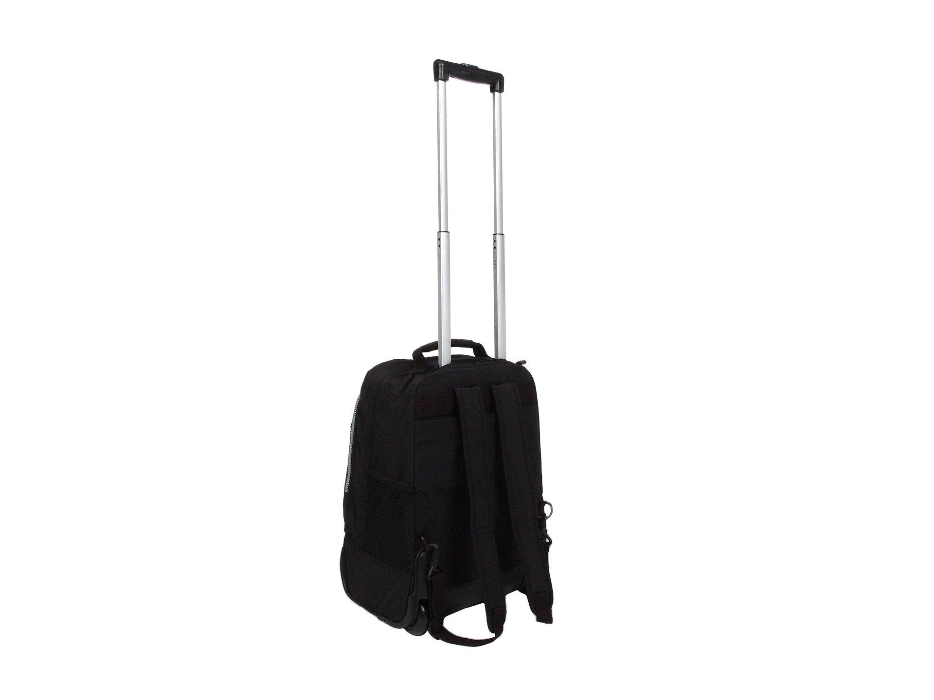 Kipling Wheeled Sanaa Kipling Black Backpack Wheeled Black Backpack Kipling Sanaa I4wqxTp7B