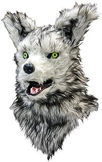 口が連動しリアルに動く!なりきりアニマルムービングマスク!【wolf/ウルフ】あなたも 超ヒューマンな動物キャラに大変身