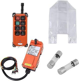 Draadloze afstandsbediening, draadloos, 24 V, gelijkstroom, 1 snelheid, met zender en ontvanger.