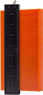 Medidor de contorno con cerradura, fotocopiadora con escala, dúplex de 25 cm, medidor de perfil irregular para una medició...