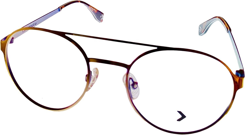 Converse Gunmetal Mens Soft Round Eyewear Metal Q115 50mm discount Wholesale Frame