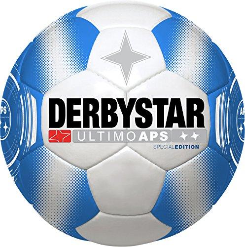 Derbystar Herren Ultimo APS Special Edition Fußball, Weiß/Blau, 5