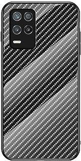 """جراب SHUNDA لهاتف Realme 8 5G، جراب واقي من ألياف الكربون اللينة فائقة النحافة مصنوع من مادة TPU لهاتف Realme 8 5G 6.5"""" - ..."""