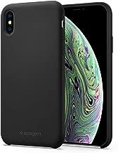 Spigen Silicone Fit Designed for Apple iPhone Xs/X Case (2018) - Black