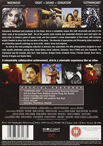 Aria - Special Edition [DVD] [1987]
