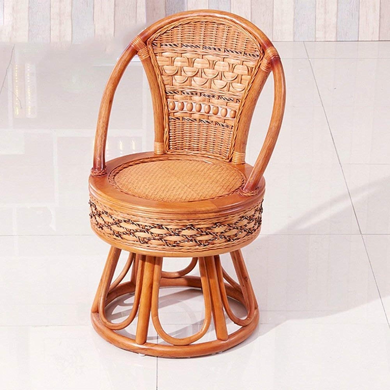 QTQZ Brisk- Wood Circular Sofa Stool American Print Fabric Soft Stool Toilet Chair Bedroom Change shoes Sofa Stool