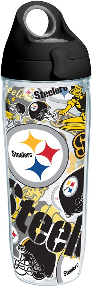 Tervis NFL Pittsburgh Steelers All Over Translated Bl and Wrap Don't miss the campaign Tumbler with