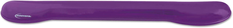 Innovera Gel Keyboard Wrist We OFFer at cheap prices price Purple Rest IVR51441