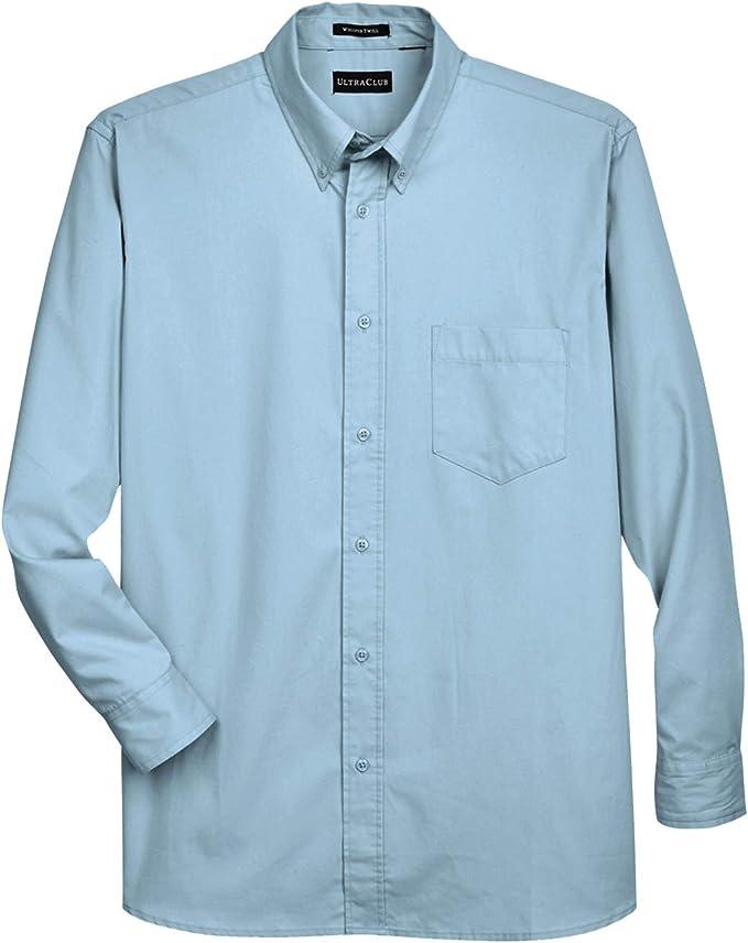 Wine//White Details about  /Men/'s Long Sleeve Dress Shirt Slim Fit Super Soft Egyptian Cotton