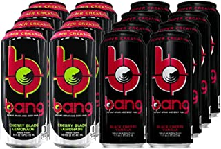 VPX Bang Variety - Black Cherry Vanilla and Cherry Blade Lemonade, 16fl.oz. (Pack of 16)