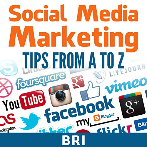 Social Media Marketing Tips from A to Z audiobook cover art