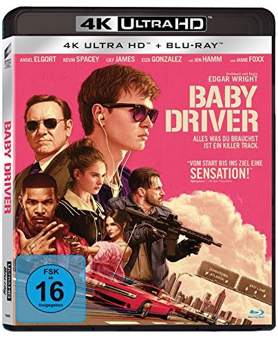 Baby Driver 4K Ultra-HD [Blu-ray]