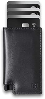 Parliament - Slim Leather Wallet - RFID Blocking - Quick Card Access