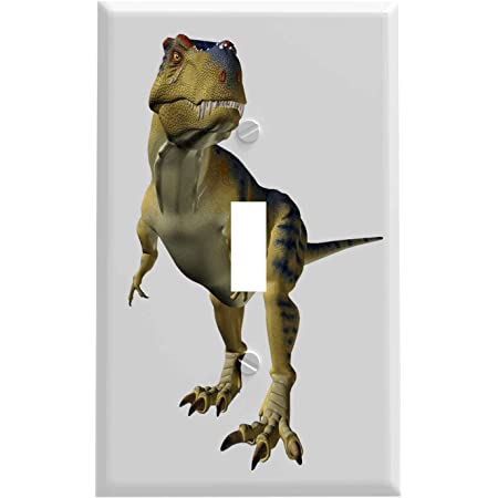 Dinosaur T Rex Switchplate Switch Plate Cover Single Switch Plates