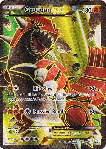 Pokemon - Groudon-EX (150/160) - XY Primal Clash - Holo