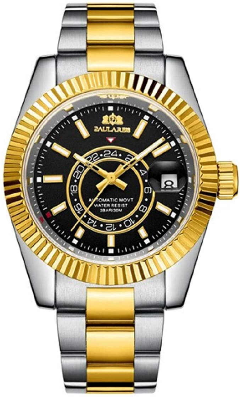 PAULAREIS Brand Luxury Automatic Movement Watch f Casual 爆安プライス 贈答品 Fashion