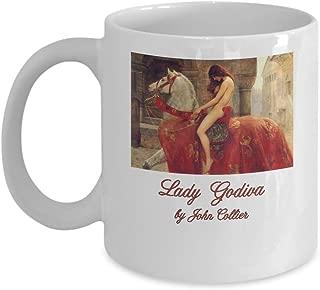 Lady Godiva by John Collier: Ceramic Coffee Mug