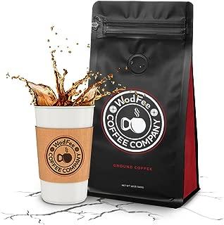 WodFee Coffee Company | Fran-ETIC Blend | Worlds Strongest Ground Coffee with Added Caffeine & Keto Friendly | Very Potent Formula | 12 oz Bag