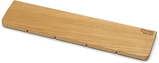 FILCO ウッドリストレスト アメリカンチェリー材 Mサイズ 幅(360mm) 天然木製 オスモカラー仕上げ 日本製 FWPR/M-AMC