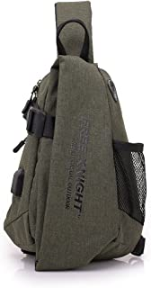 Sling Bag- Chest Shoulder Rope Backpack for Man and Women