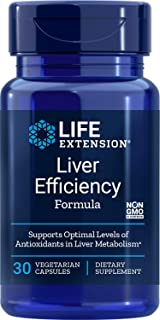 Life Extension Liver Efficiency Formula 30 Vegetarian Capsules