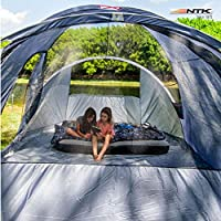 NTK Laredo Gt 8 To 9 Person 10 By 15 Foot Sport Camping Tent 100% Waterproof 2000Mm Dark Teal 14