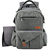 HapTim Multi-Function Large Baby Diaper Bag...