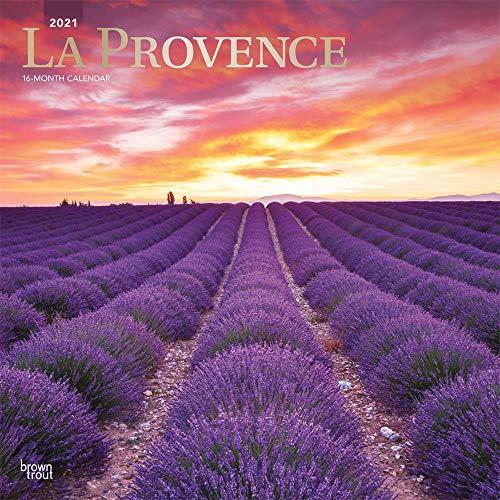 La Provence 2021 - 16-Monatskalender: Original BrownTrout-Kalender [Mehrsprachig] [Kalender] (Wall-Kalender)