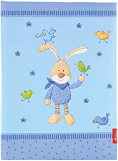 Pagna 48 pagine 240 x 230 mm Diario del neonato con elefanti