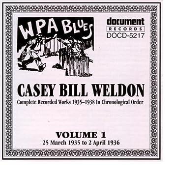 Casey Bill Weldon Vol. 1 1935-1936