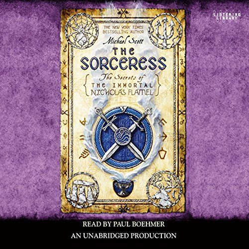 The Sorceress     Secrets of the Immortal Nicholas Flamel, Book 3              By:                                                                                                                                 Michael Scott                               Narrated by:                                                                                                                                 Paul Boehmer                      Length: 14 hrs and 3 mins     2,052 ratings     Overall 4.4