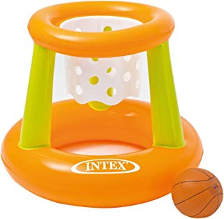 Intex Basket Swimming Floating Hoops Basketball Game, Multi-Colour, 58504