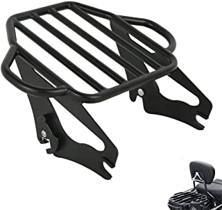 TCMT Detachable Adjustable Two Up Tour Pak Luggage Rack Mounting Fits For Harley Touring Electra Glide Road King Street 2009-2020