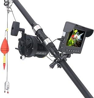 GRXXX 4.3 Pulgadas Underwater HD Fish Finder 1000tvl Cámara Visión Nocturna 175 Grados Cámara de Rueda de mar Pesca (20/25...