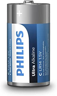 Philips Extreme Life + 2-Blister C Cell (LR14)
