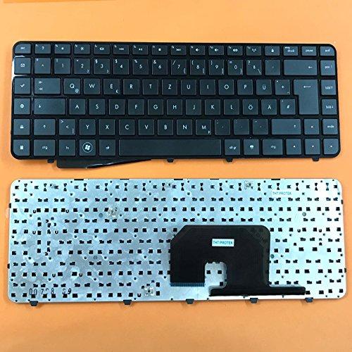 kompatibel für HP Pavilion DV6-3010sg Tastatur - Farbe: Schwarz - mit Rahmen - Deutsches Tastaturlayout