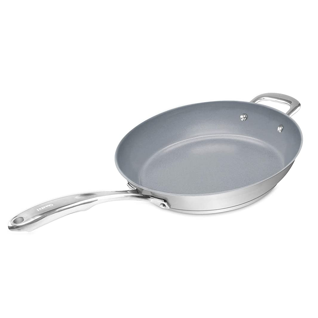 Chantal SLIN63-32C Induction 21 Fry Pan with Ceramic Coating, 12.5- Inch