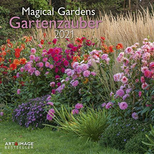 Gartenzauber 2021 - Wand-Kalender - Broschüren-Kalender - A&I - 30x30 - 30x60 geöffnet: Magical Gardens