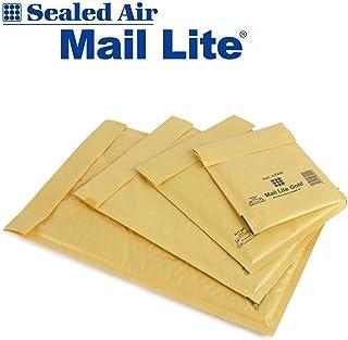 100 Mail Lite - D/1 - JL/1 - Sobres acolchados de 180 x 260 mm, cajas de 100 unidades, color dorado