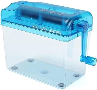 Moligh doll Mini tagliatrice blu dei documenti di carta della trinciatrice per distruggi distruggitori del distruttore della trinciatrice