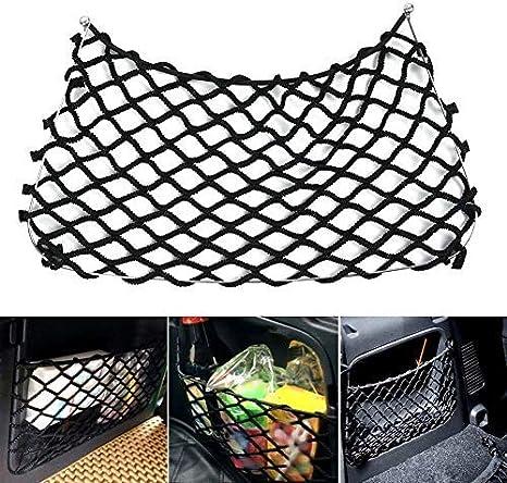 Semine Kofferraum Aufbewahrungstasche Multifunktions Aufbewahrungstasche Kofferraum Seitennetz Tasche Autozubehör Küche Haushalt